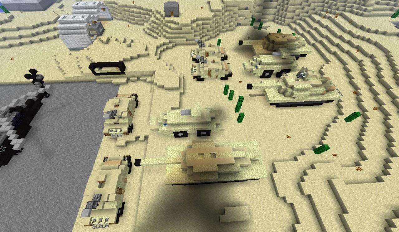 Скачать карту на майнкрафт 1.7.10 на военную базу