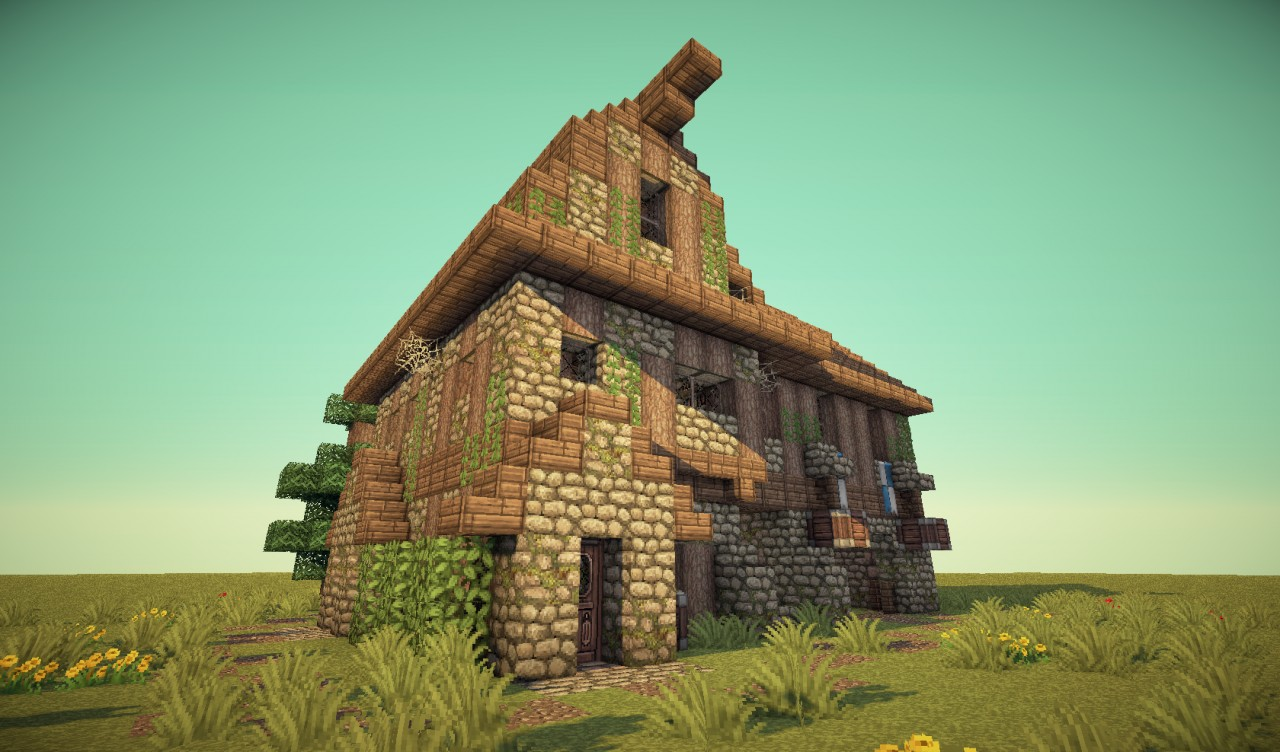 Medieval BarnHouse Minecraft Project