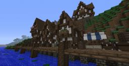 Medieval port town Minecraft Map & Project