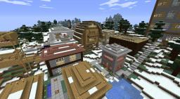 Snowyville town! 216.172.99.195:26014 Minecraft Map & Project