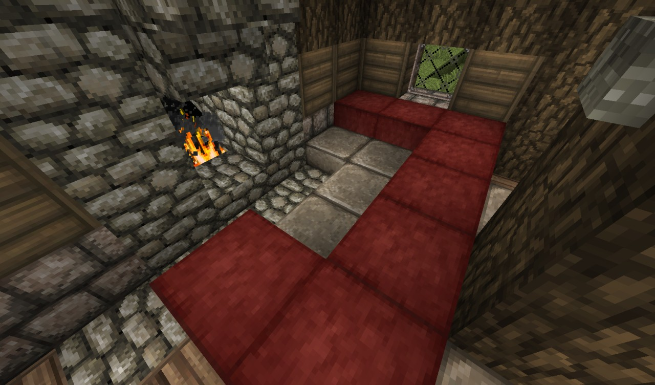 medieval cottage minecraft project