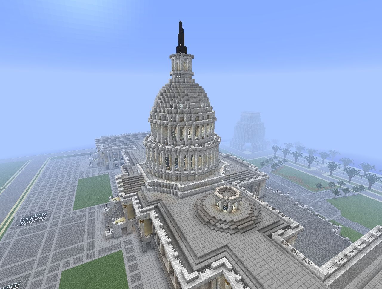 The United States Capitol Replica Minecraft Project