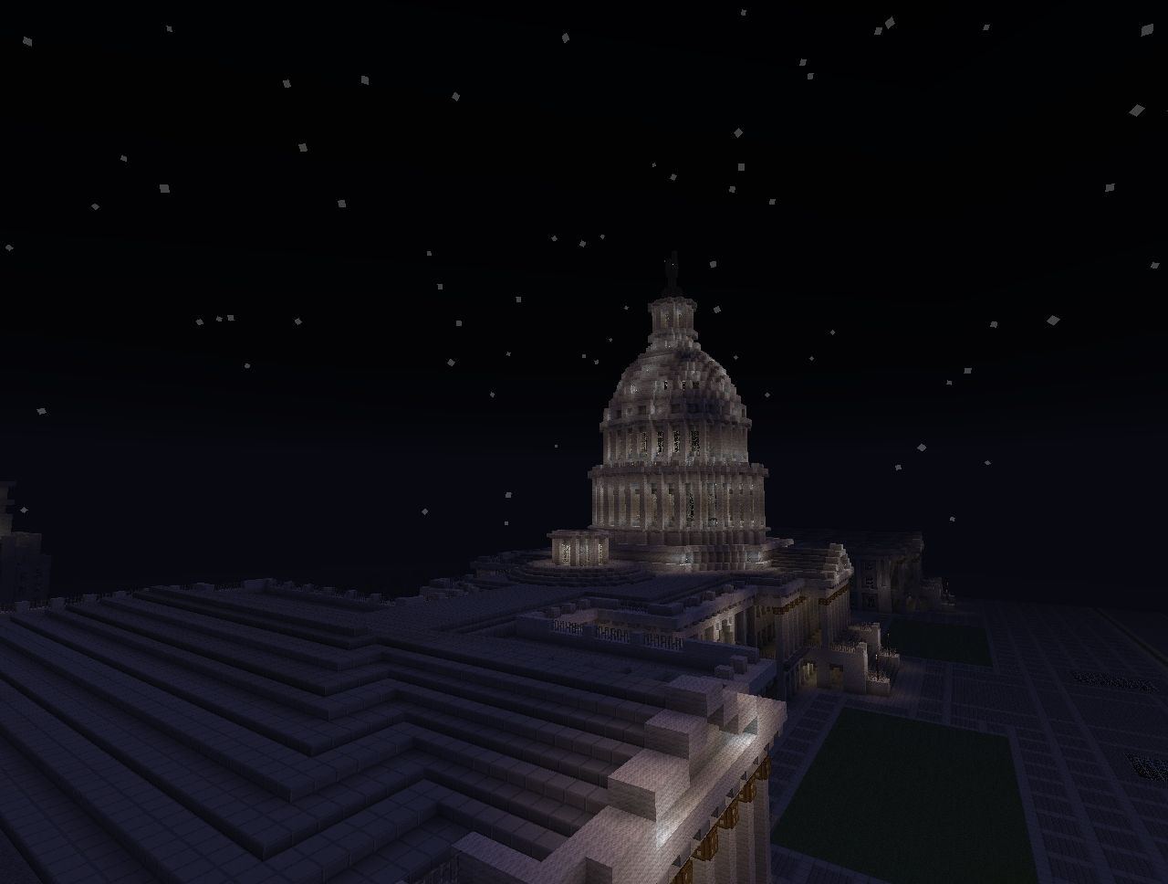 The United States Capitol Replica Minecraft Project - Minecraft us capitol map