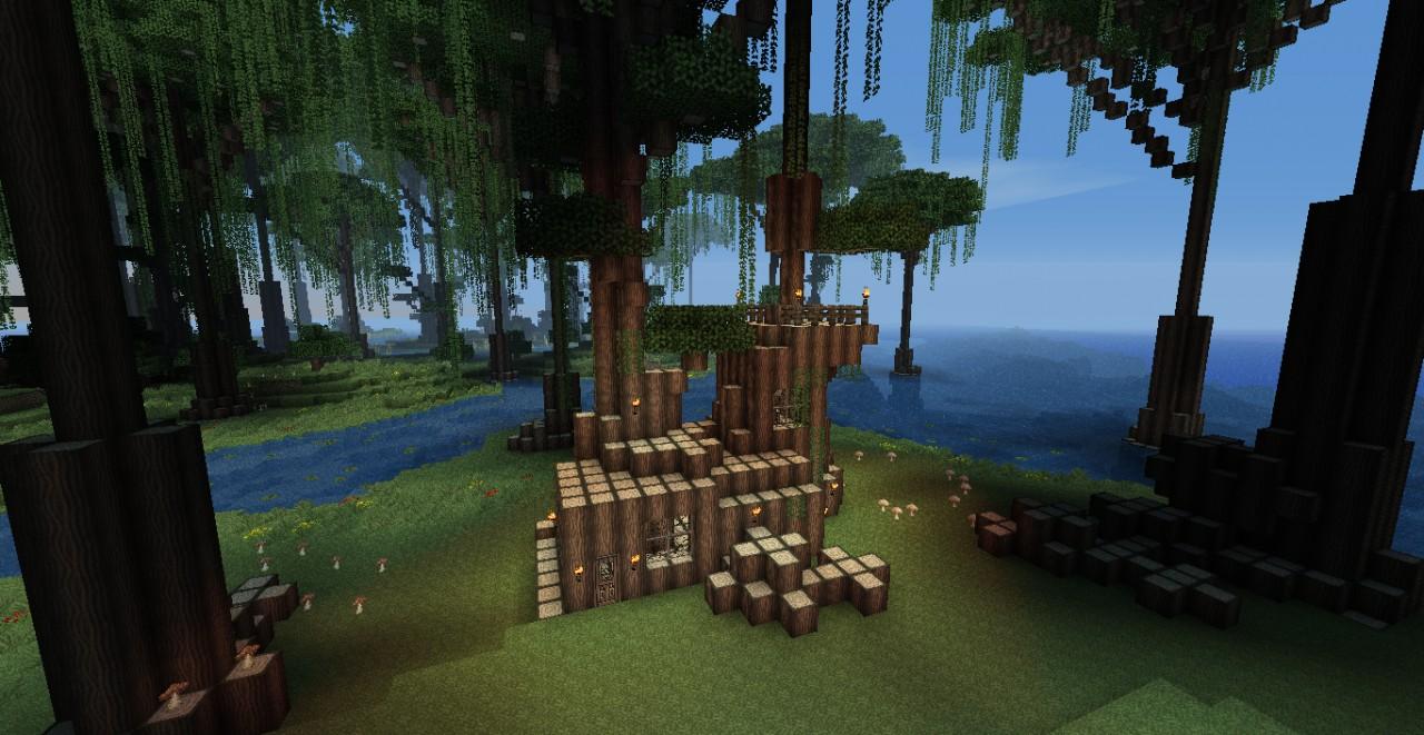 Quiet Swamp Home Minecraft Project