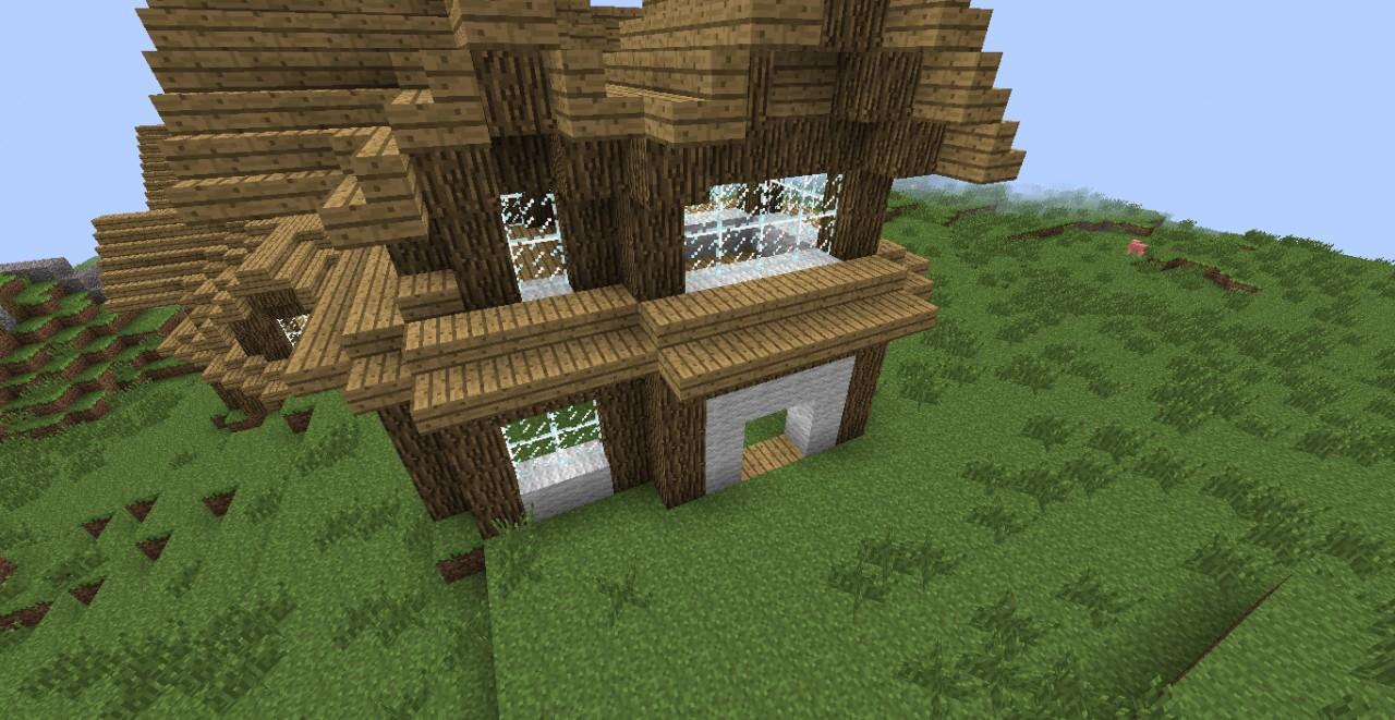 Minecraft Mansion Tut