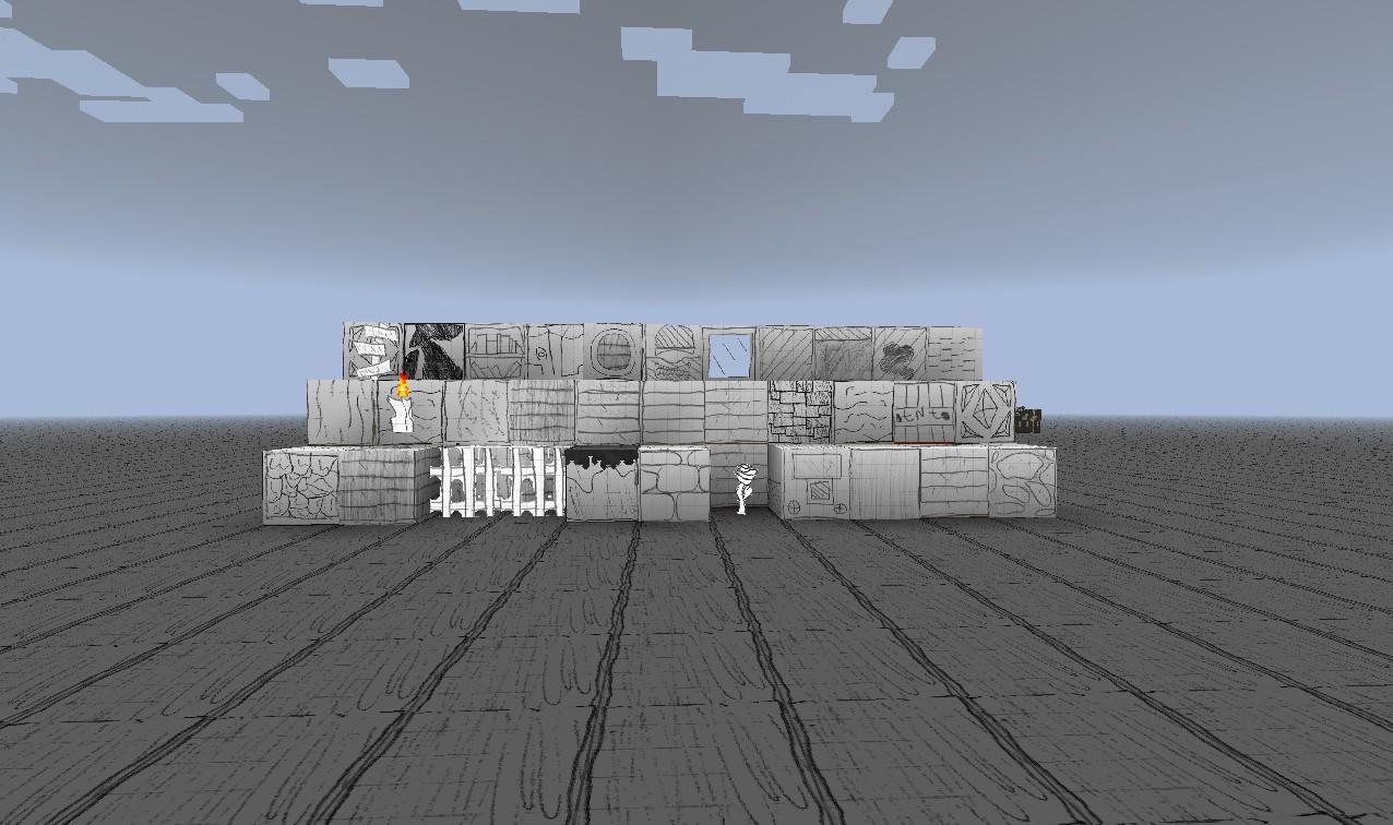 PAPERcraft Minecraft Texture Pack