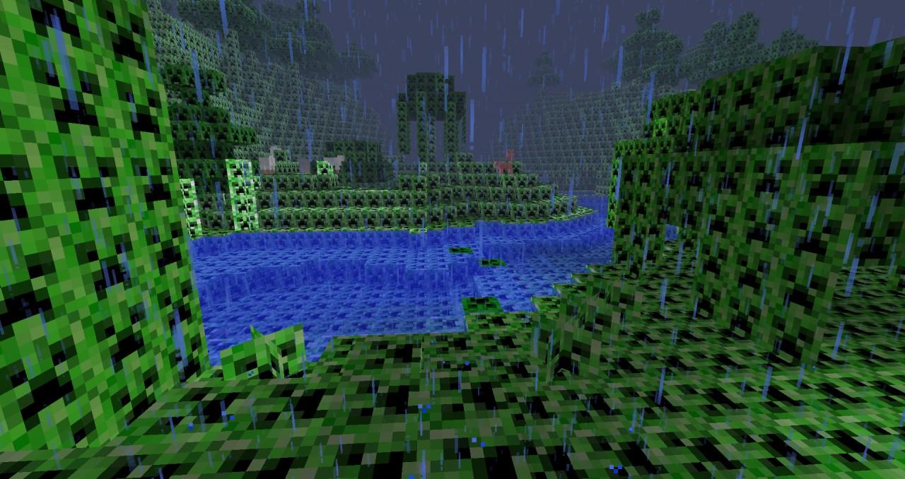 Minecraft Creeper In Real Life Creeper craft minecraft