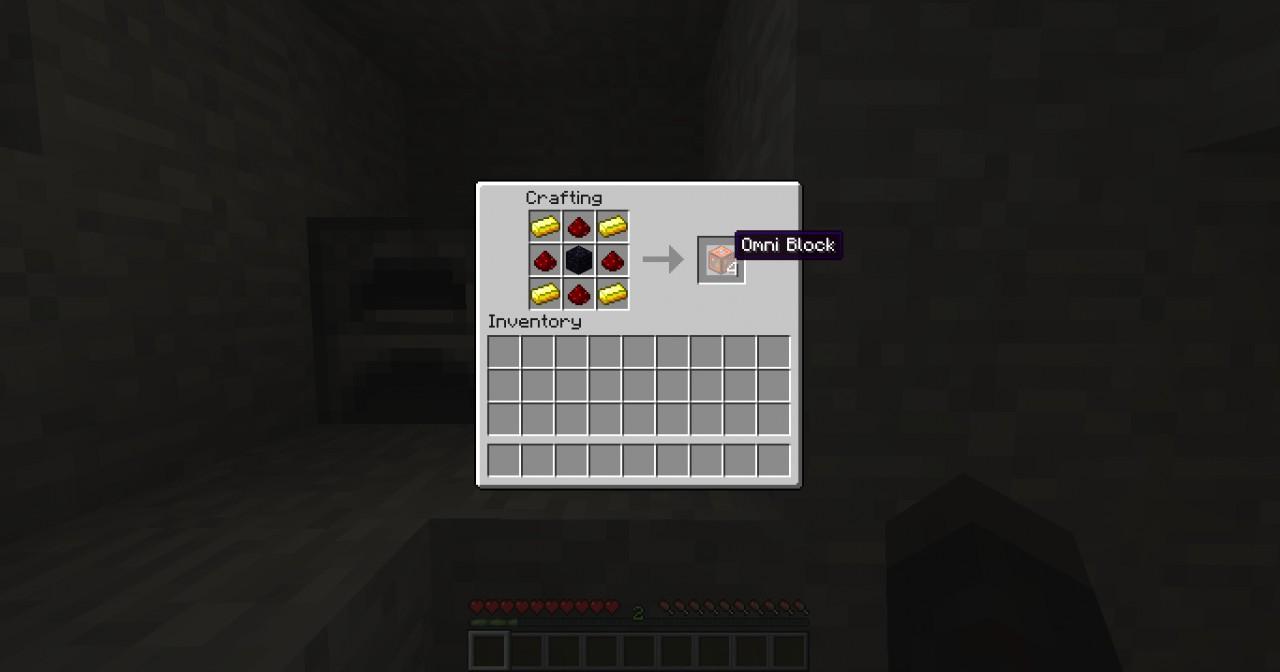 Crafting Omni Block