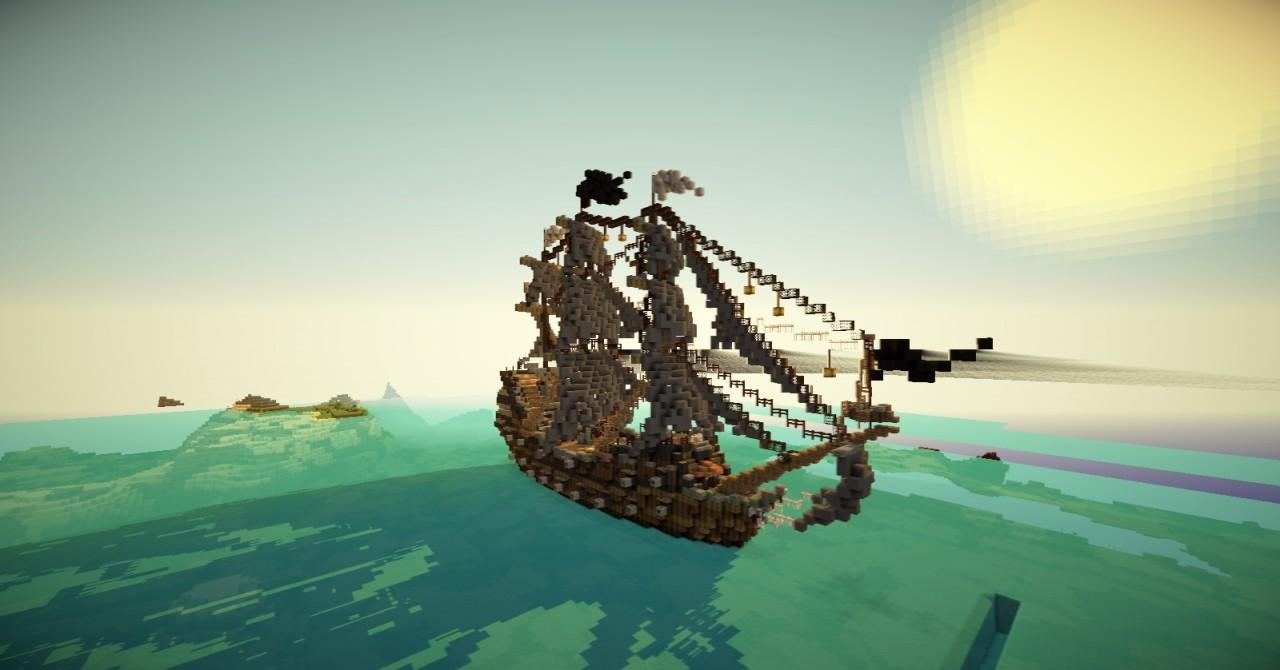 Стрелялки майнкрафт пираты