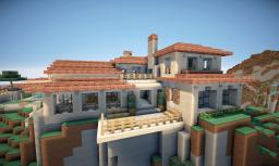 Italian Villa on World of Keralis Minecraft