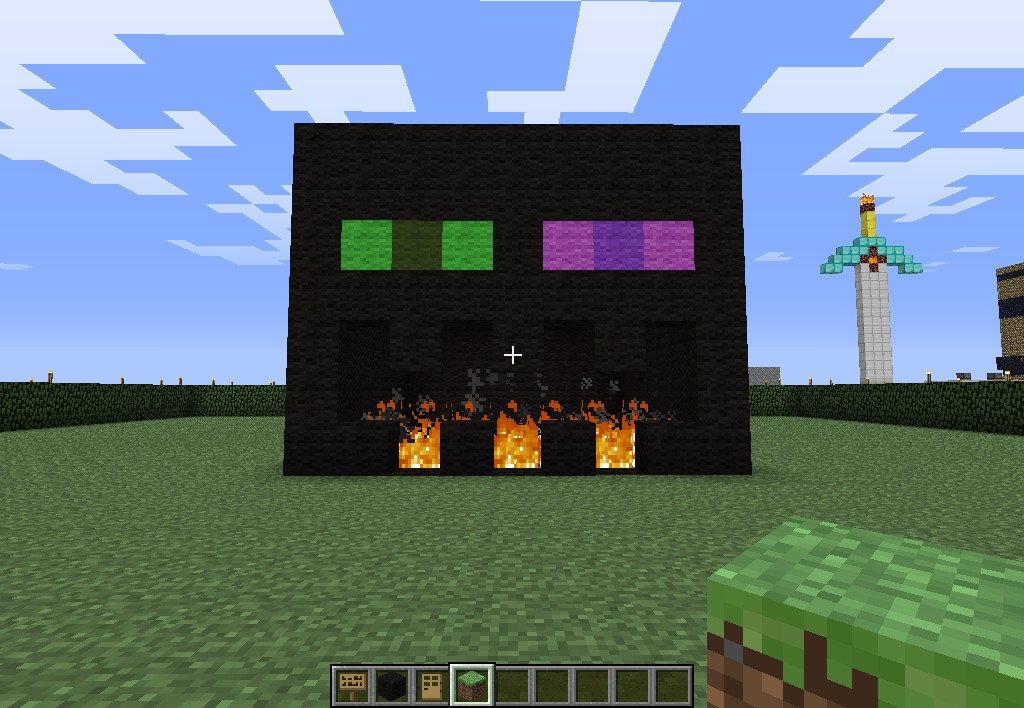 Enderman Head Minecraft Project