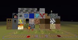 128*128 cartoon craft by: crafteren Minecraft Texture Pack