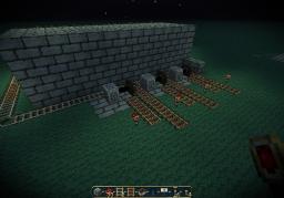 Minecart piston rail switch Minecraft Map & Project
