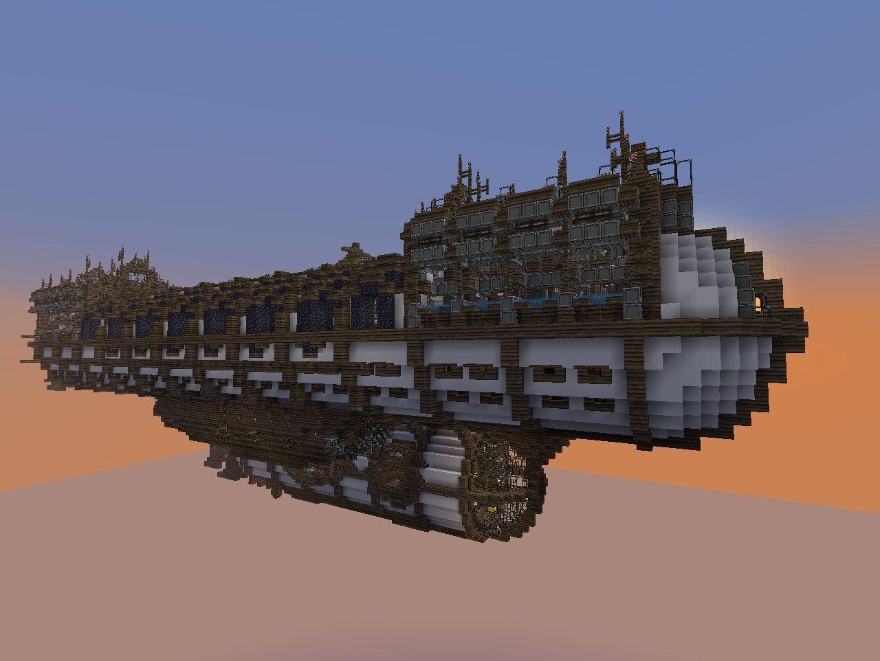 The Gargantua Warship