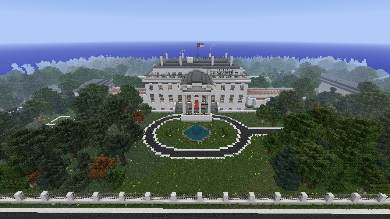 Full Scale White House Minecraft Project