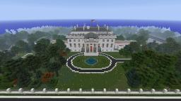 Full Scale White House Minecraft Map & Project