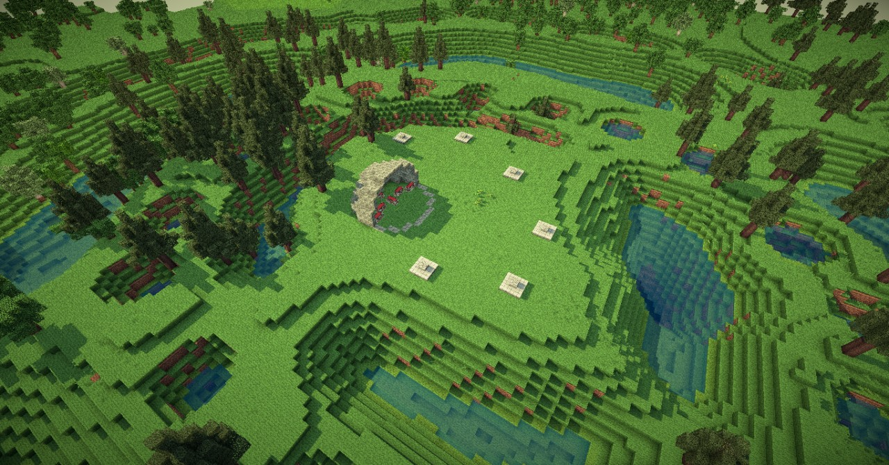 Hunger Games Map Minecraft Project