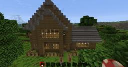 Lovely house Minecraft Map & Project