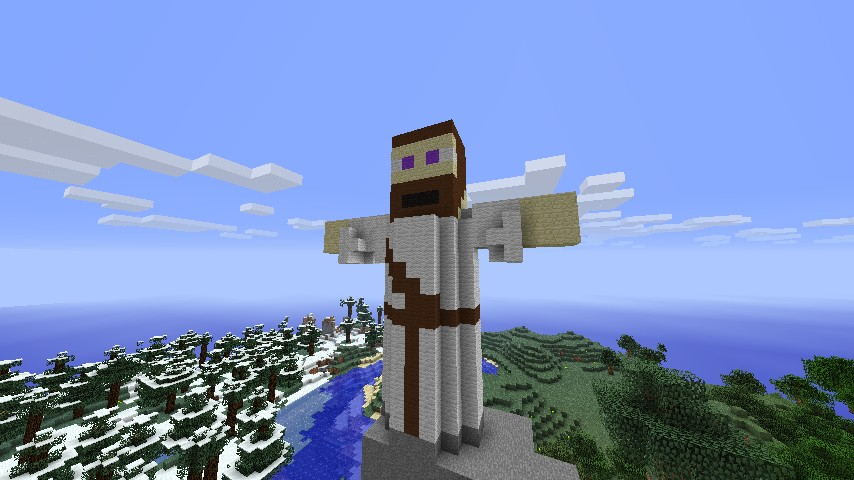 christ the redeemer minecraft project