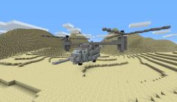 V-22 Osprey Minecraft Map & Project