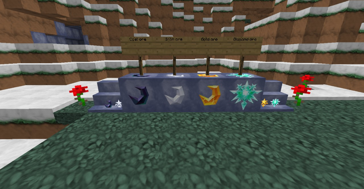 Ores and Ingots