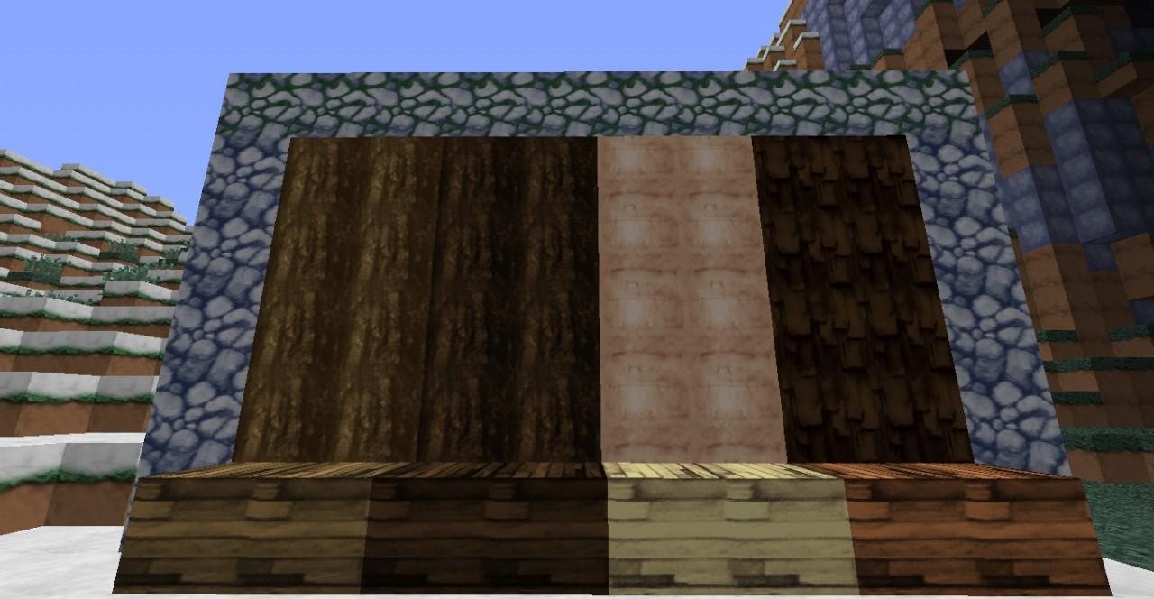 Woods, and Cobblestones