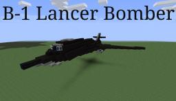 B-1 Lancer Minecraft Map & Project