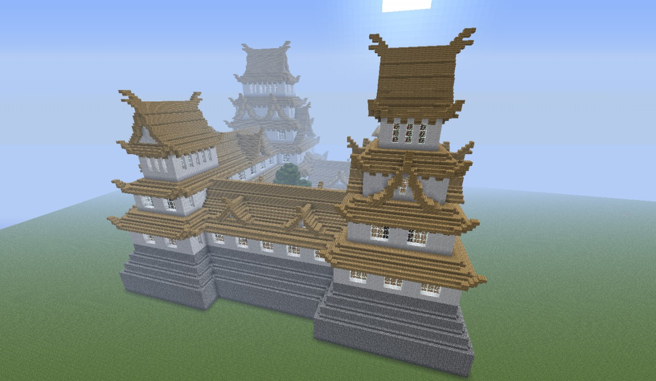 Japanese Castle Expanded Minecraft Project