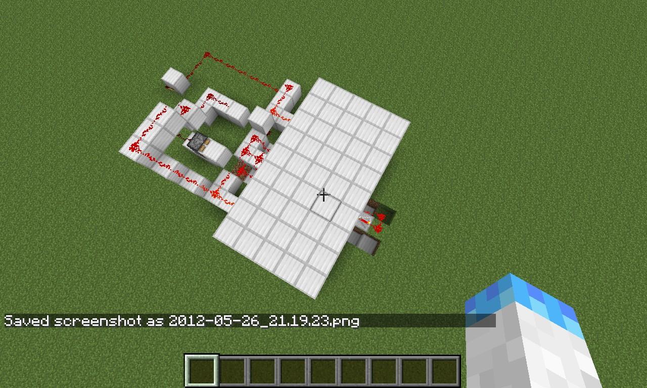 Well Minecraft Piston Door Diagram On, Well, Free Engine ...