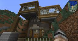 Hillside Manor Minecraft Map & Project