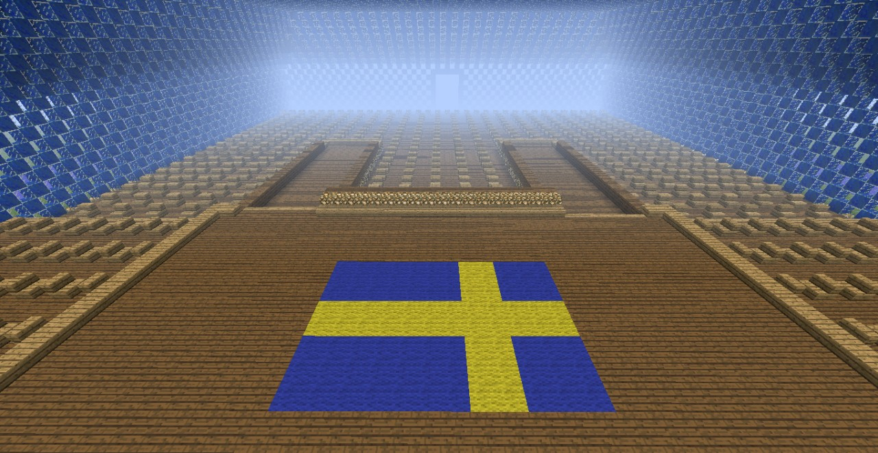 Eurovision Sweden Minecraft Project - Sweden map minecraft download
