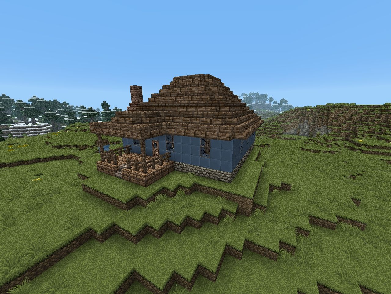 how to build a tiny house in minecraft
