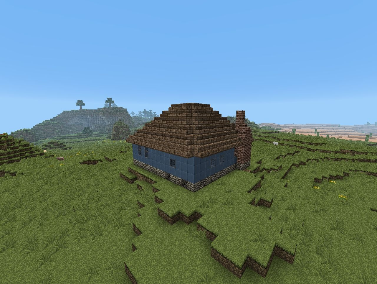Small Ranch House Minecraft Project