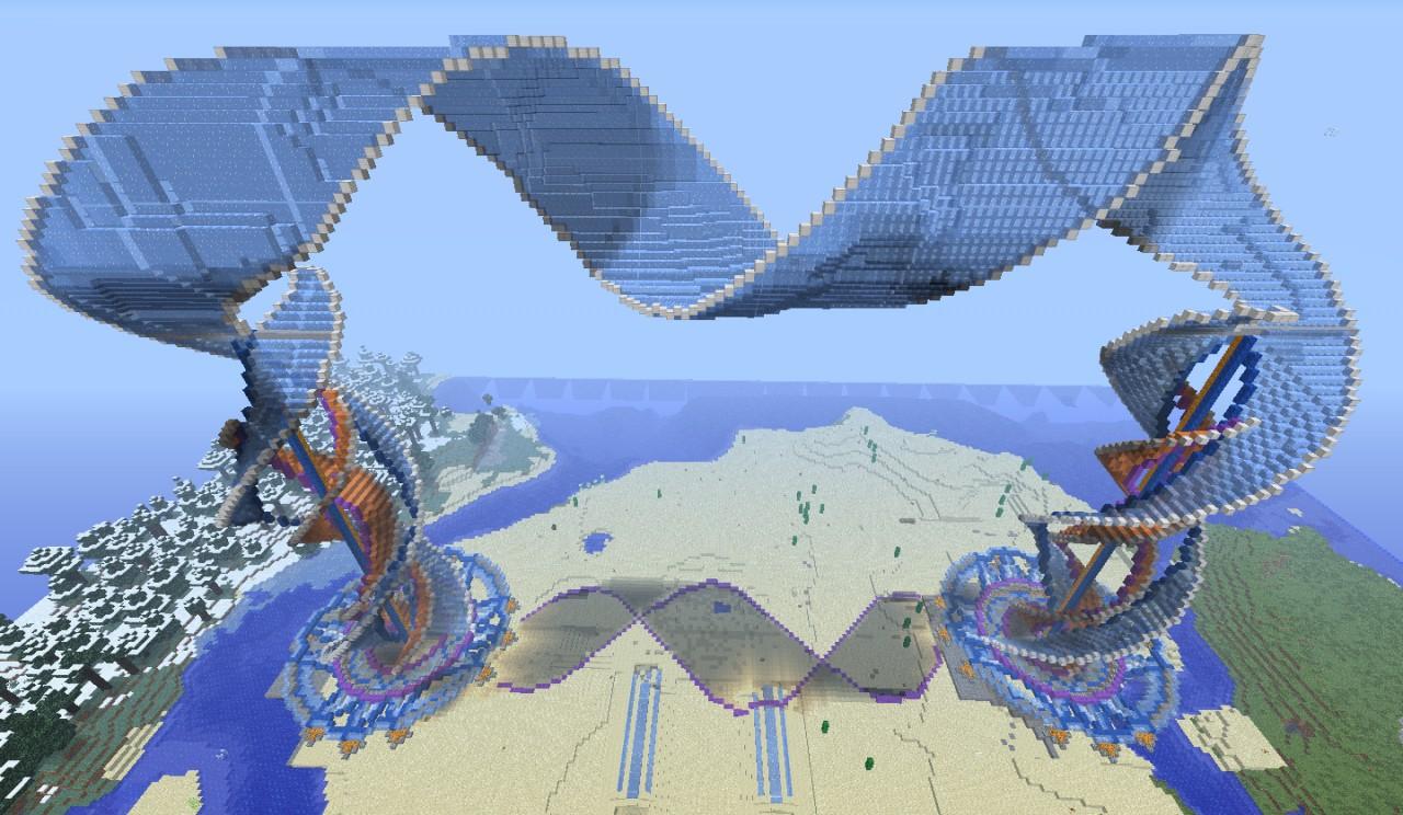 Spiral Arch Minecraft Project