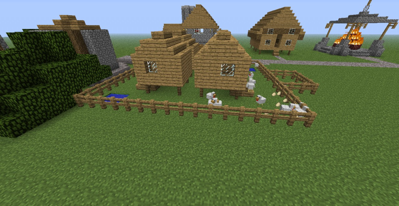 Chicken Coop Minecraft Project