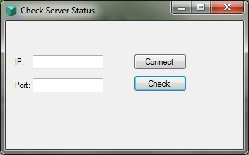 Minecraft server status checker