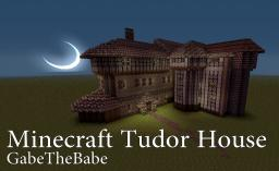 Tudor Style Manor Minecraft Map & Project