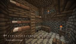 Furnishing Tips - Poor man's house Minecraft