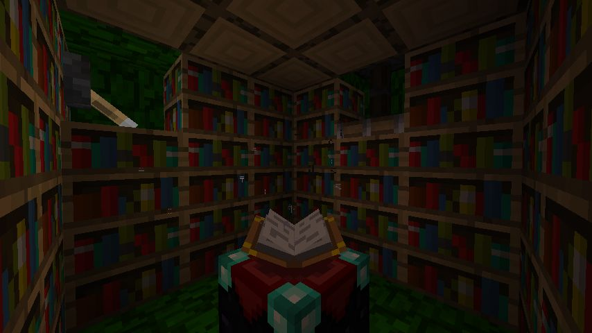 Bookshelves don t affect the levels