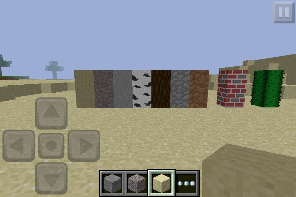 My texture pack on minecraft pe