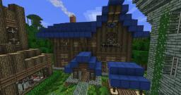 Elwynn Inn Minecraft Map & Project