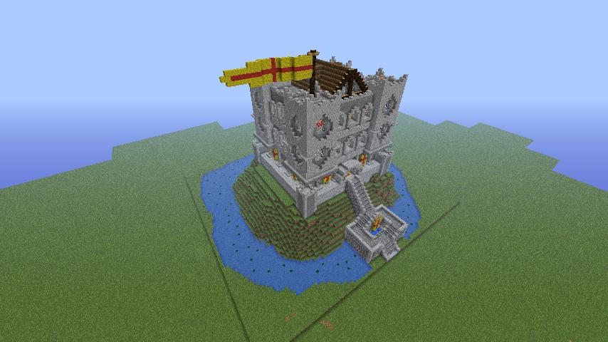 Fallen Kingdom Based Castle Minecraft Project