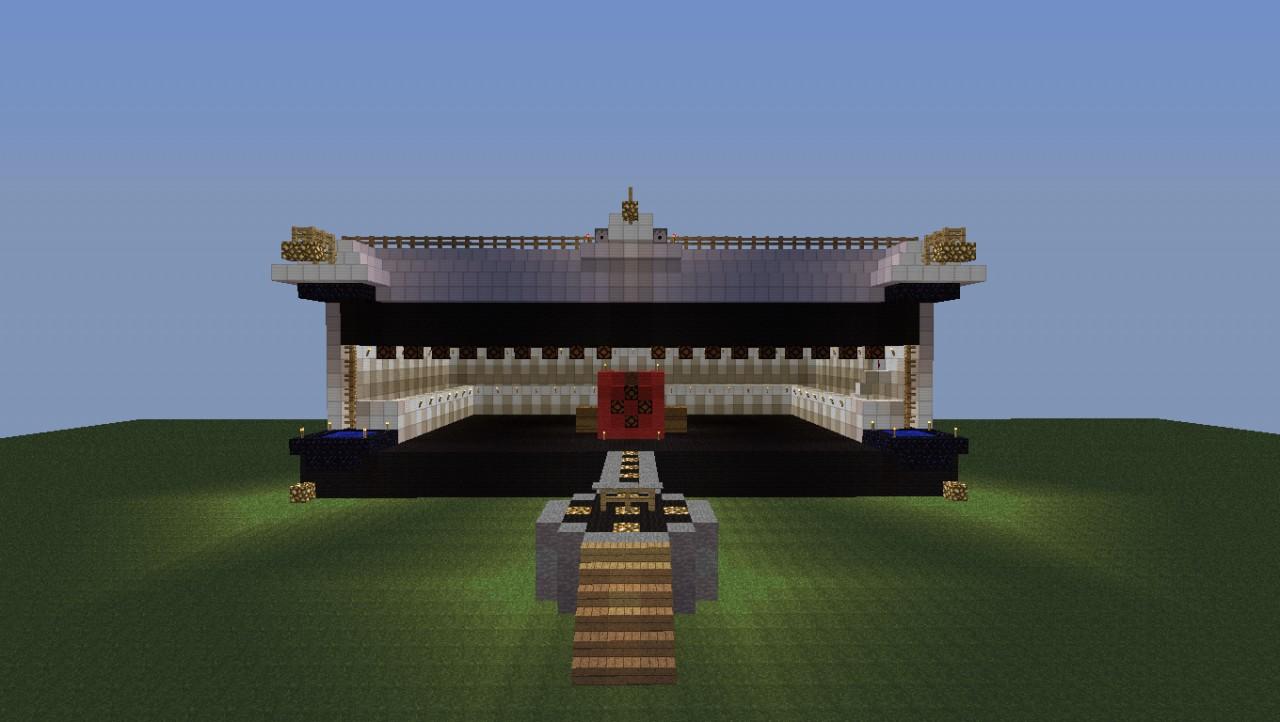 Minecraft Concert Preformance Stage Minecraft Project