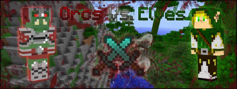 elves vs orcs minecraft