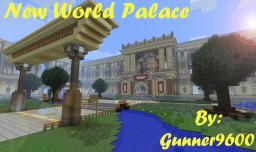 New World Palace! By: Gunner9600 Minecraft