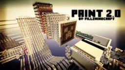 Minecraft - Paint 2.0 New Feature - Print Images! Minecraft