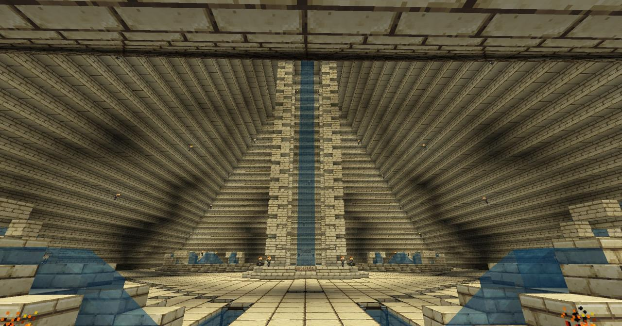 Pyramid - Inside - From Entrance