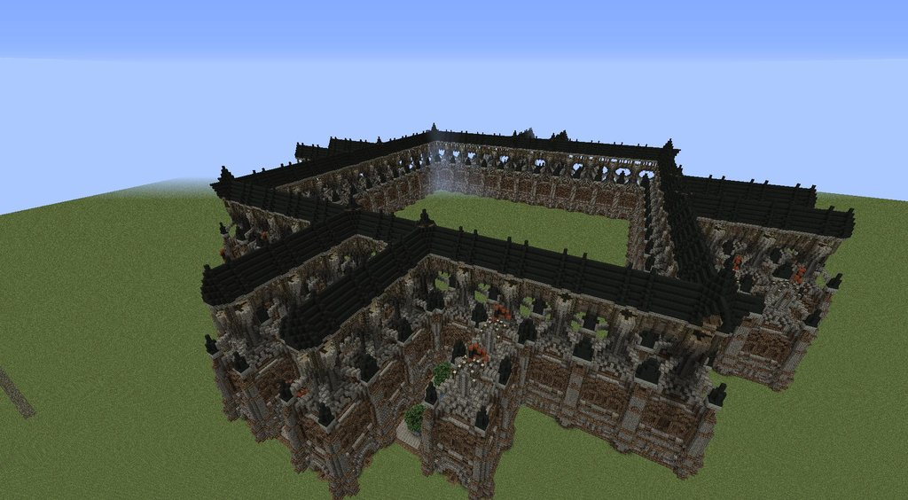 Minecraft City Walls Large medieval city walls minecraft project