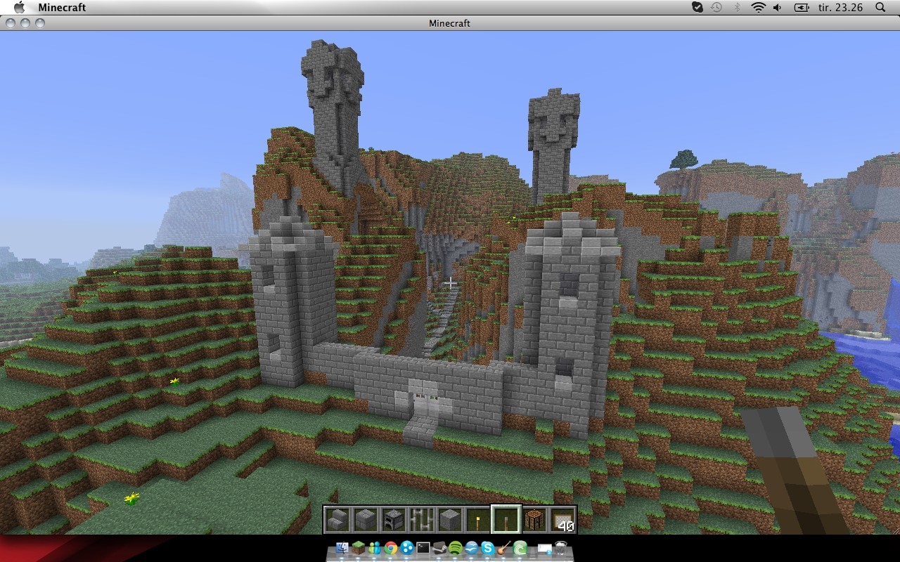 how to start a city on minecraft