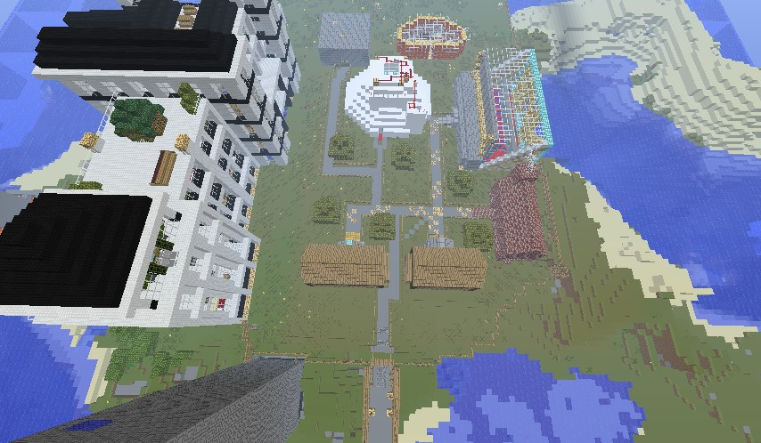 Our V.I.P Village. If you want to join, donate!